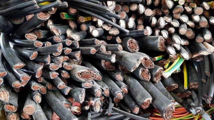 mua dây điện cũ