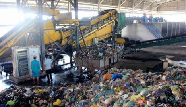 Nhà máy xử lý rác thải