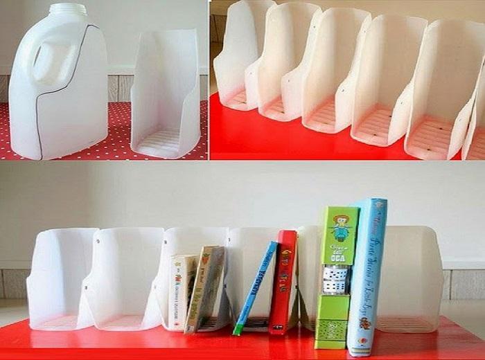 Làm đồ chơi từ nhựa phế liệu