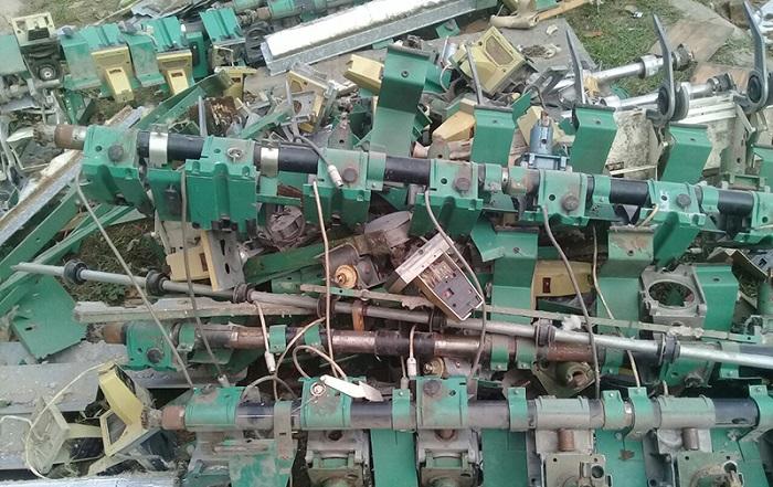 Máy móc cũ phế liệu bao nhiêu tiền 1kg